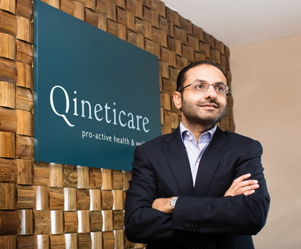 Feisal Alibhai, founder & CEO at Qineticare, Hong Kong.
