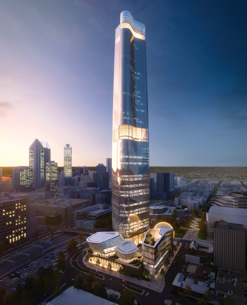 Perth World Trade Centre - Ph © Nest Investment