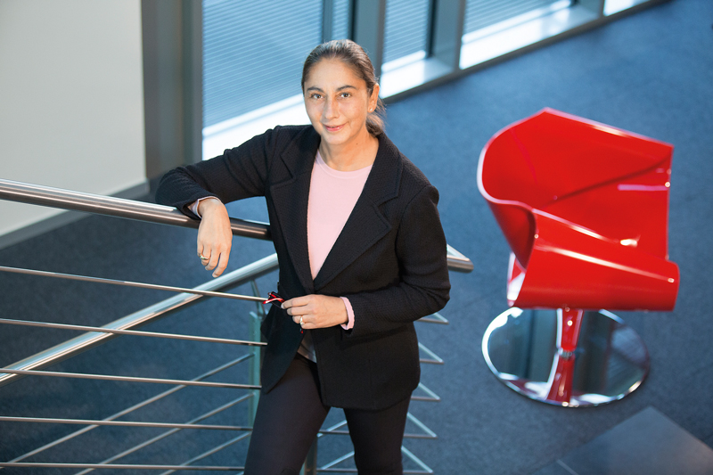 Third-generation Bettina Würth chairs the advisory board of the German assembling and fastenings Würth group - Ph: Würth group