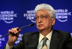 Azim Premji at the World Economic Forum in 2009